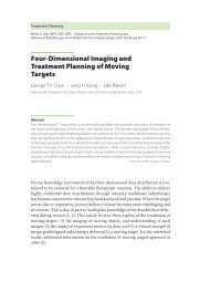 Four-Dimensional Imaging and Treatment Planning of ... - Karger