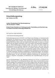SPD-Entschließungsantrag - Karin Roth, MdB