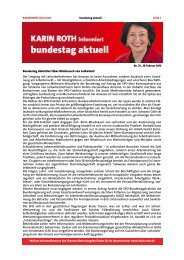 Bundestag aktuell: Missbrauch von Leiharbeit - Karin Roth, MdB