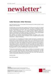 Newsletter der SPD-Bundestagsfraktion - Karin Roth, MdB