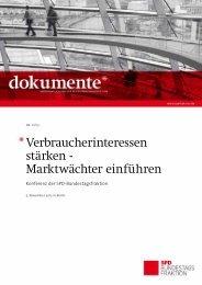 Marktwächter einführen - SPD Bundestagsfraktion