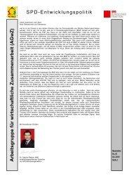 47. Newsletter der SPD-Arbeitsgruppe für ... - Karin Roth, MdB