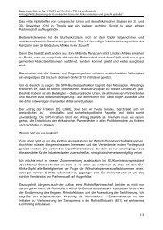 Das dritte Gipfeltreffen von Europäischer Union ... - Karin Roth, MdB