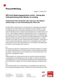 SPD weist Regierungsgutachten zurück – Antrag ... - Karin Roth, MdB