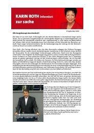 05-10 Karin Roth zur Sache Atomdeal.pub - Karin Roth, MdB