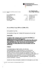 Der Staatssekretär Hans-Jürgen Beerfeltz . An ... - Karin Roth, MdB