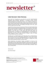 Newsletter der SPD-Bundestagsfraktion Nr. 3 - Karin Roth, MdB