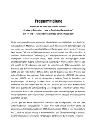 Pressemitteilung - Karin Kortmann