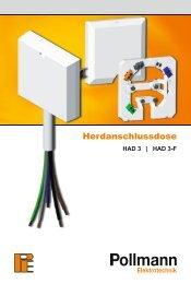 Herdanschlussdose - Pollmann Elektrotechnik