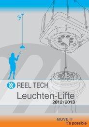 15 Reel tech Leuchten-Lifte