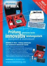 BENNING ST 750 A - Karl Mahl GmbH
