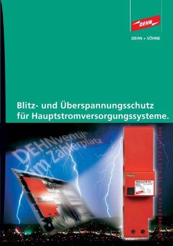 Blitz - Dehn + Söhne Blitzschutzsysteme
