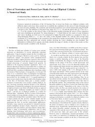 Flow of Newtonian and Power-Law Fluids Past an Elliptical Cylinder ...