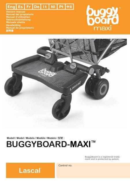 Lascal Buggy Board Maxi pdf