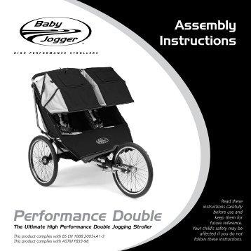 Baby Jogger Performance Double USA.pdf - pramfix