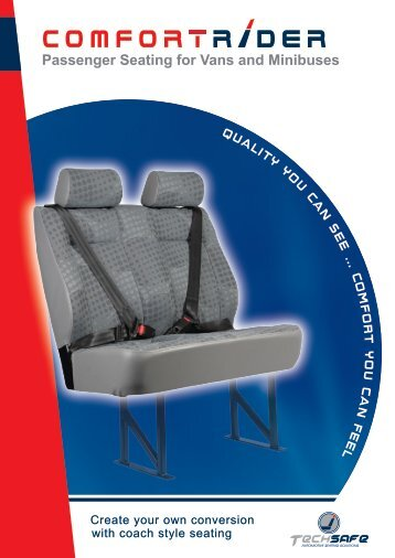 Techsafe Comfort Rider - Passenger Seating for Vans and ...