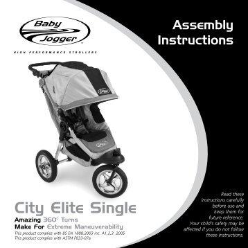 Baby Jogger City Elite Single USA.pdf