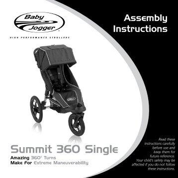 Baby Jogger Summit 360 Single USA.pdf