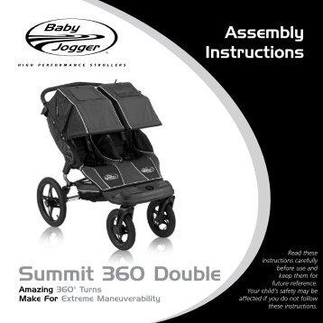 Baby Jogger Summit 360 Double USA.pdf