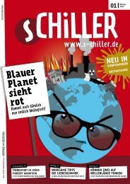 Blauer Planet sieht rot - Schiller Online