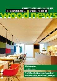 Wood News 1/2012 - Karl Pichler