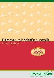 Dämmen mit Schafschurwolle - Karl Pichler