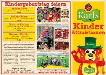 Kindergeburtstag in Warnsdorf - Karls