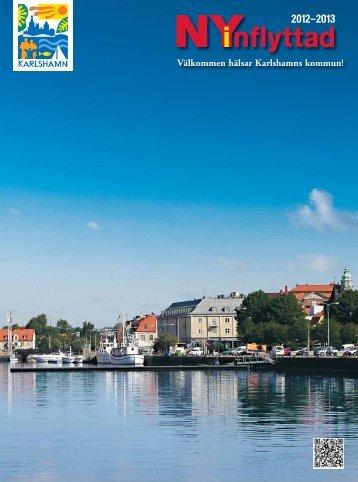 Nyinflyttad i Karlshamn