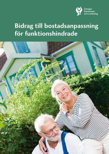 Bidrag till bostadsanpassning för funktionshindrade