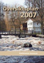 Översiktsplan 2007 Karlshamns kommun