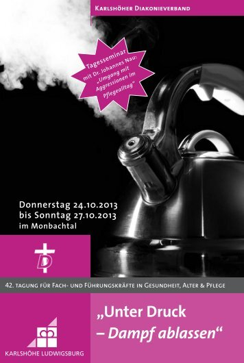 Programm mit Anmeldeformular - Karlshöhe Ludwigsburg