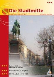 Ausgabe 1/2006 - Bürgerverein Stadtmitte e.V.