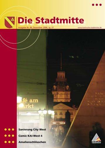 Ausgabe 6/2006 - Bürgerverein Stadtmitte e.V.