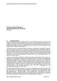 Aktualisierung Standortdiskussion UNTERE HUB ... - Karlsruhe