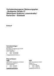 Planentwurf S. 1-45 (PDF, 12.54 MB) - Karlsruhe