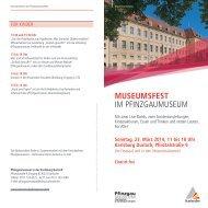 museumsfest im pfinzgaumuseum - Karlsruhe