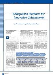 Erfolgreiche Plattform für innovative Unternehmen - Karlsruher ...