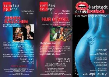 Rot&Erotisch Titel. .eps - Karlstadt