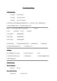 Formelsammlung - Karl-Ziegler-Schule