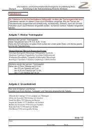 Aufgabe 1 - Karl-Ziegler-Schule