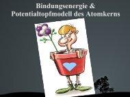 Bindungsenergie & Potentialtopfmodell des Atomkerns - Karl-Ziegler ...