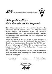 Spende an den SRV 0611 - Karl-Ziegler-Schule