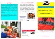 Informationen zum Schulsanitätsdienst - Karl-Ziegler-Schule