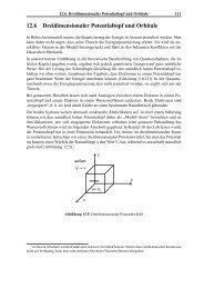 12.6 Dreidimensionaler Potentialtopf und Orbitale - Karl-Ziegler ...
