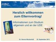 Universität Duisburg-Essen - Karl-Ziegler-Schule