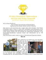 10 Jahre Stammtisch Niedersachsen Mitte in Wolfsburg 28. bis ...