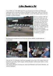 5 Jahre Stammtisch im Pott - Karmann-Mobil-Club
