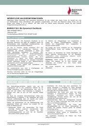 BAWAG P.S.K. Mix Dynamisch Dachfonds