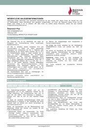 Österreich Plus (AT0000A05TF3) - BAWAG PSK Versicherung