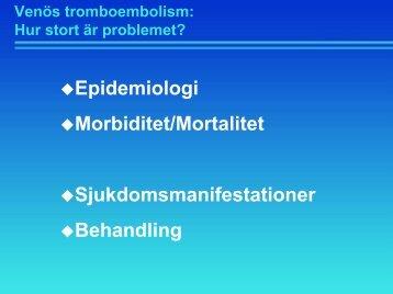 Venös tromboembolism